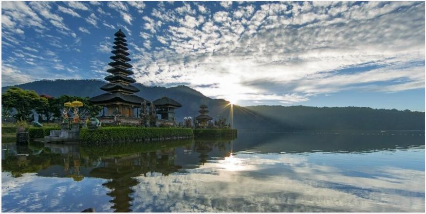 The climate of Bali
