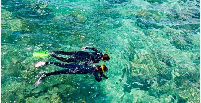 Mackerel Islands - snorkeling