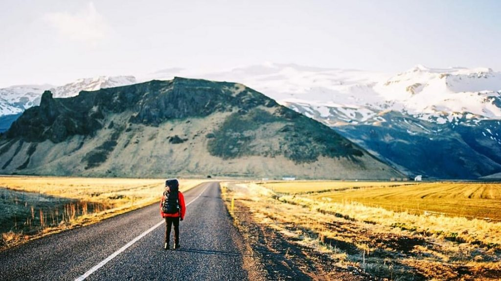 Backpacking in Iceland